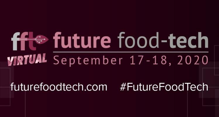 Proud sponsor of Future Food-Tech 2020
