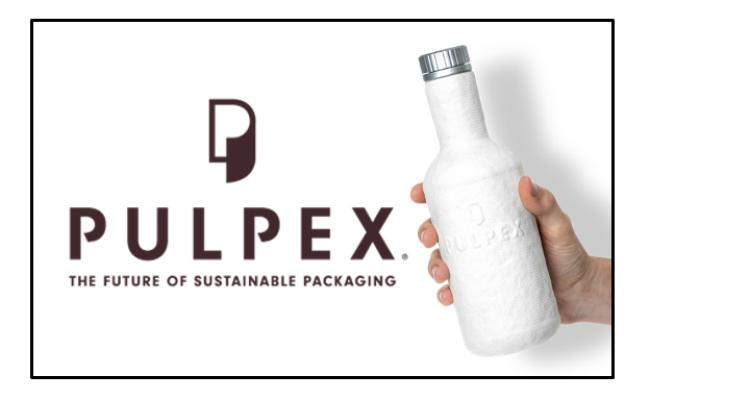 Biodegradable Pulp-Based Bottle